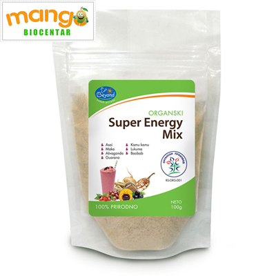 Super energy mix 100gr - organski proizvod