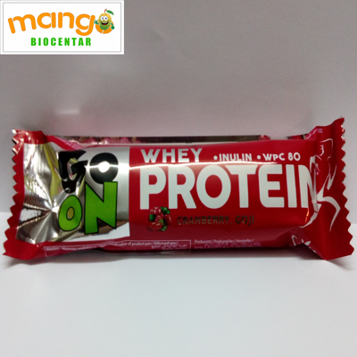 Protein bar brusnica 50gr