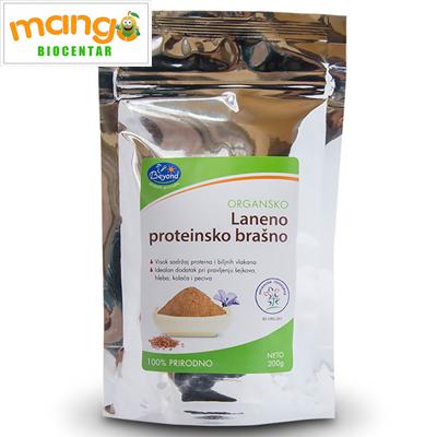 Laneno proteinsko brašno 200gr - organski proizvod